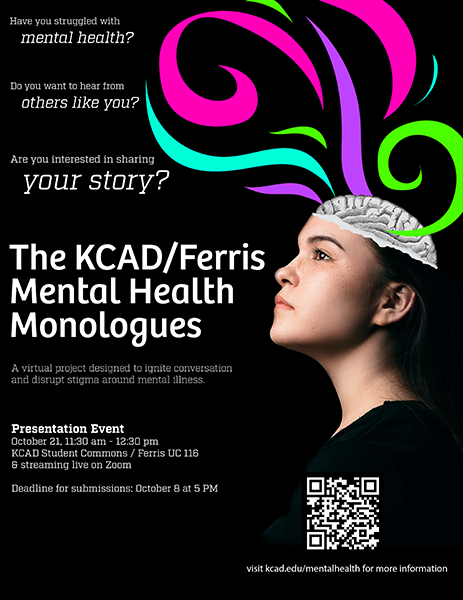 KCAD/Ferris Mental Health Monologues
