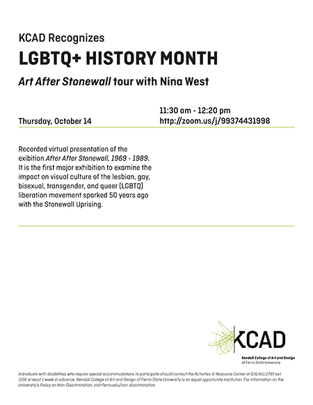 Art After Stonewall - LGBTQ+ History Month