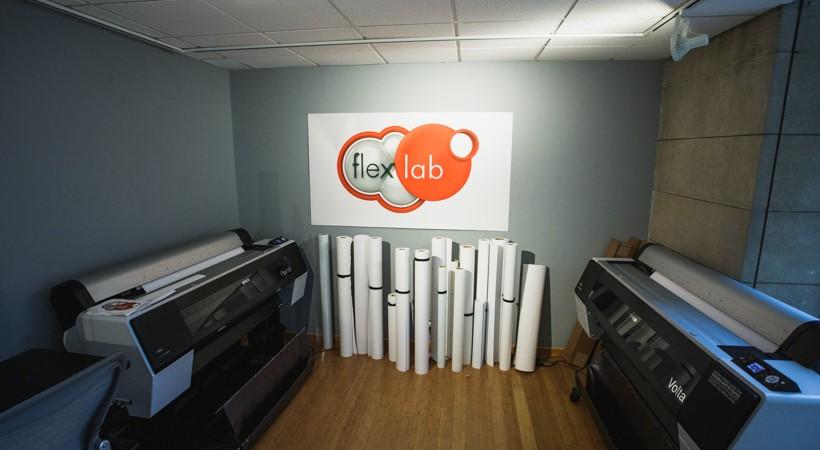 Large-format inkjet printers