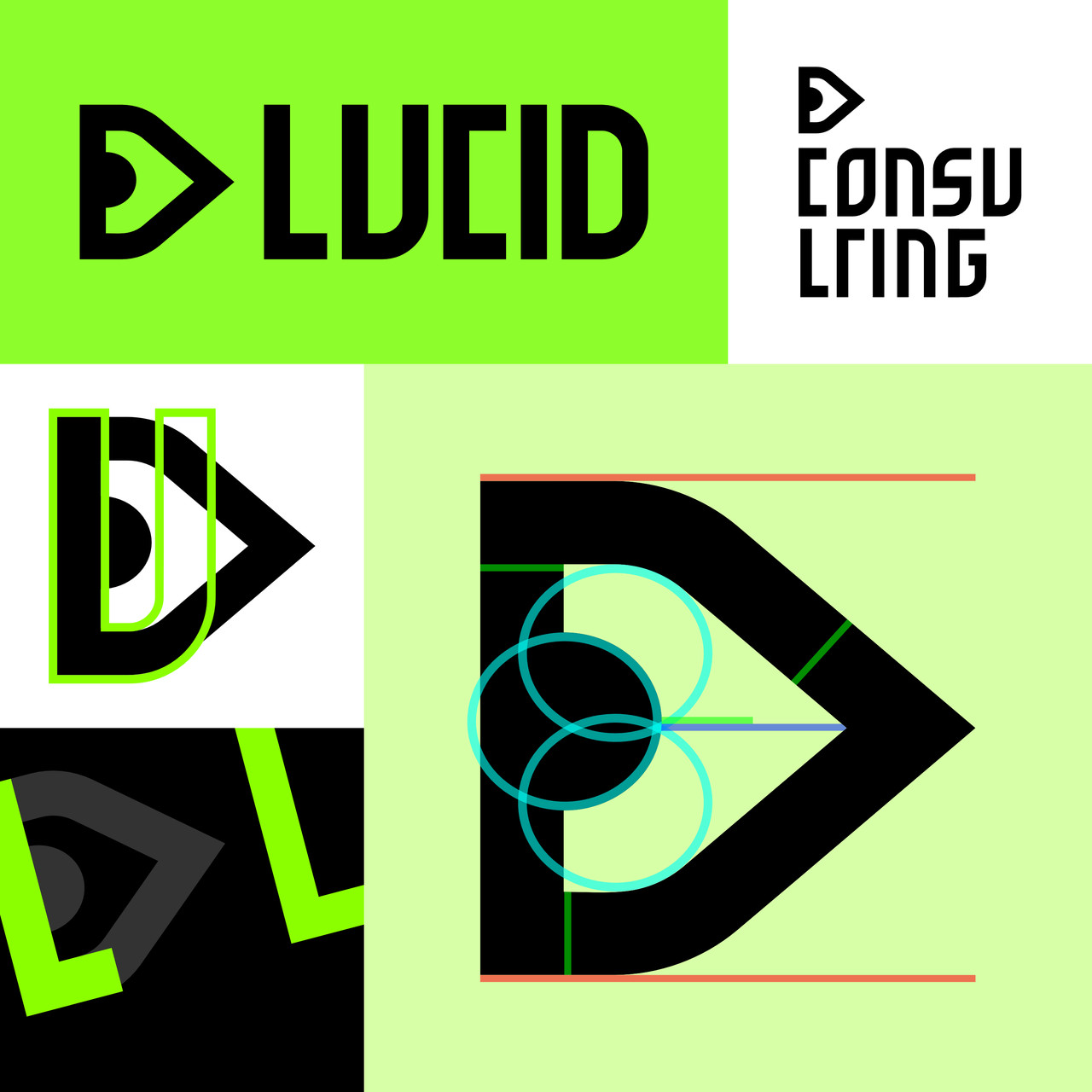 logo design with the name lucid