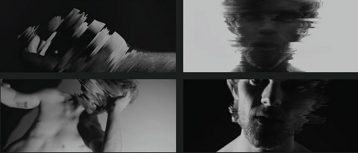 stills from music video created by KCAD students