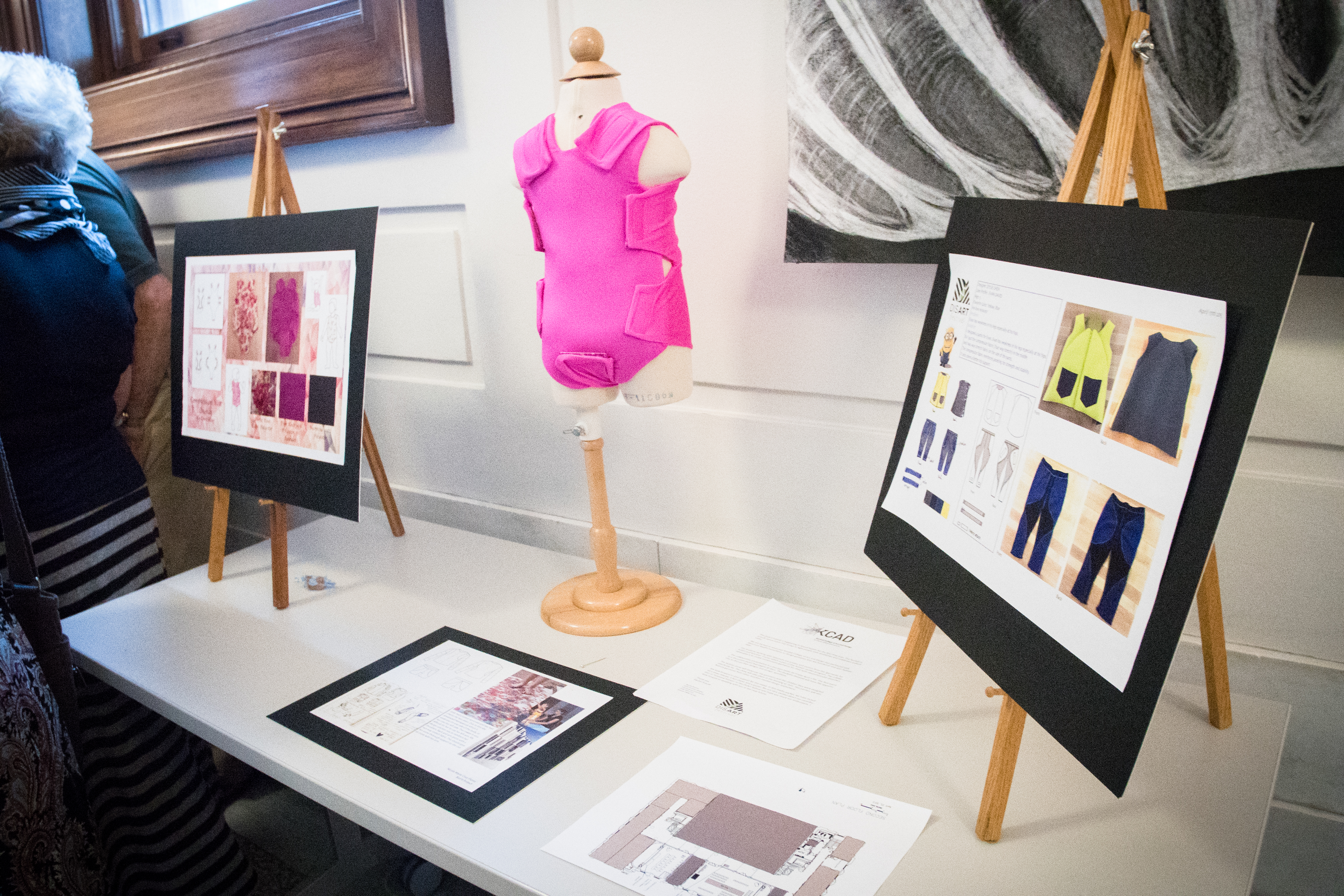 Fashion Studies student designs for Spectrum Health