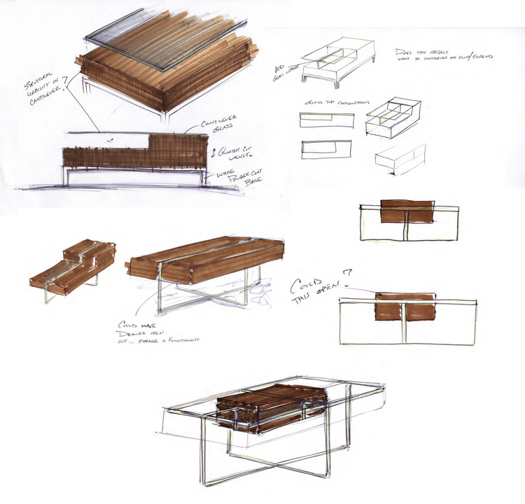 Modern Furniture Sketches news bites: furniture design alum wins bienenstock furniture