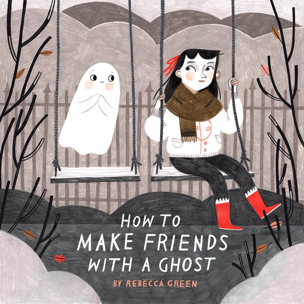 How to Make Friends with a Ghost cover