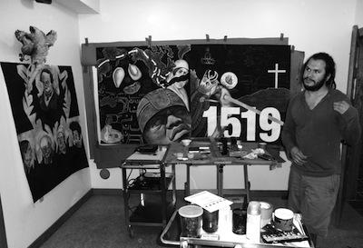 MFA Alum Artwork Brings Awareness to Latino Community