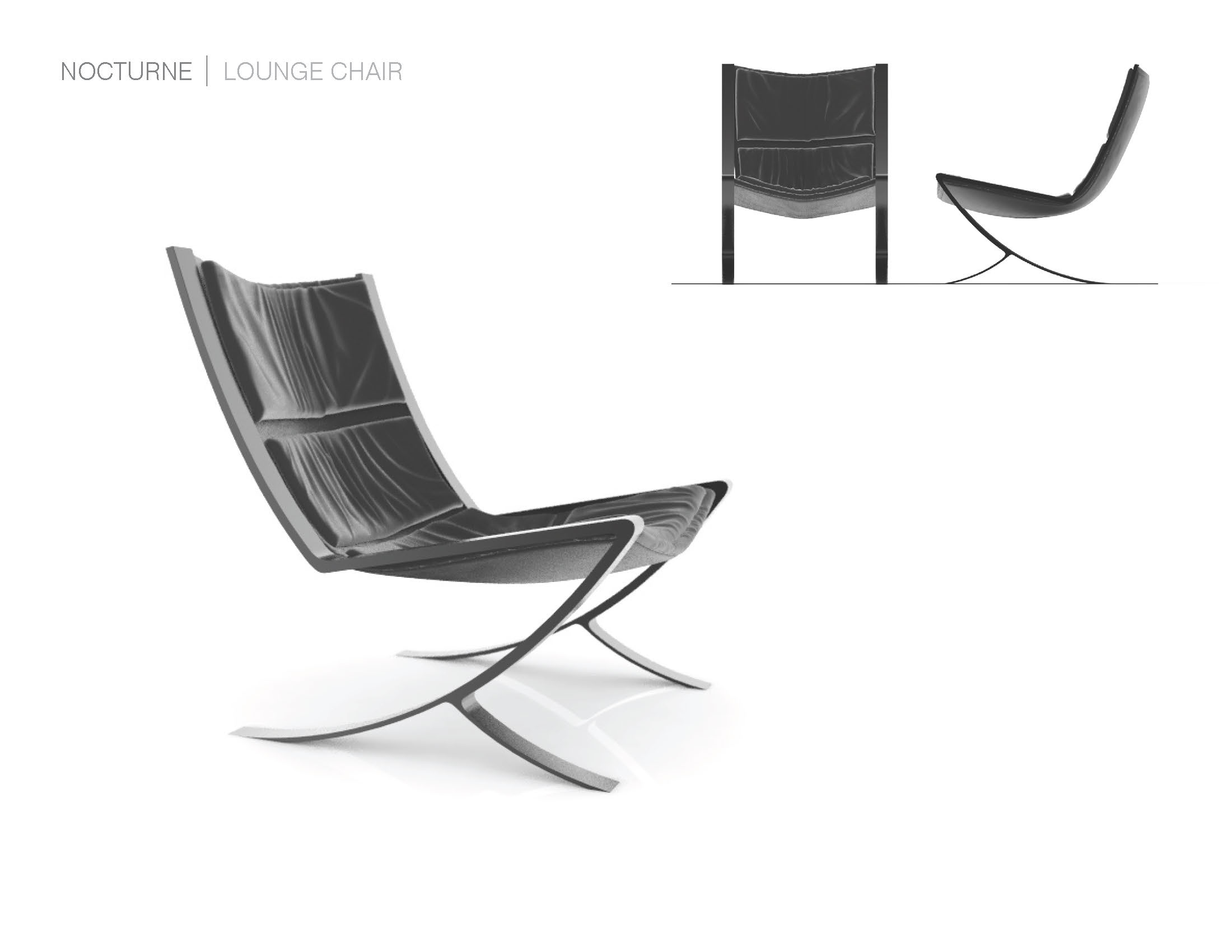 Nocture Lounge Chair by Heather Seto