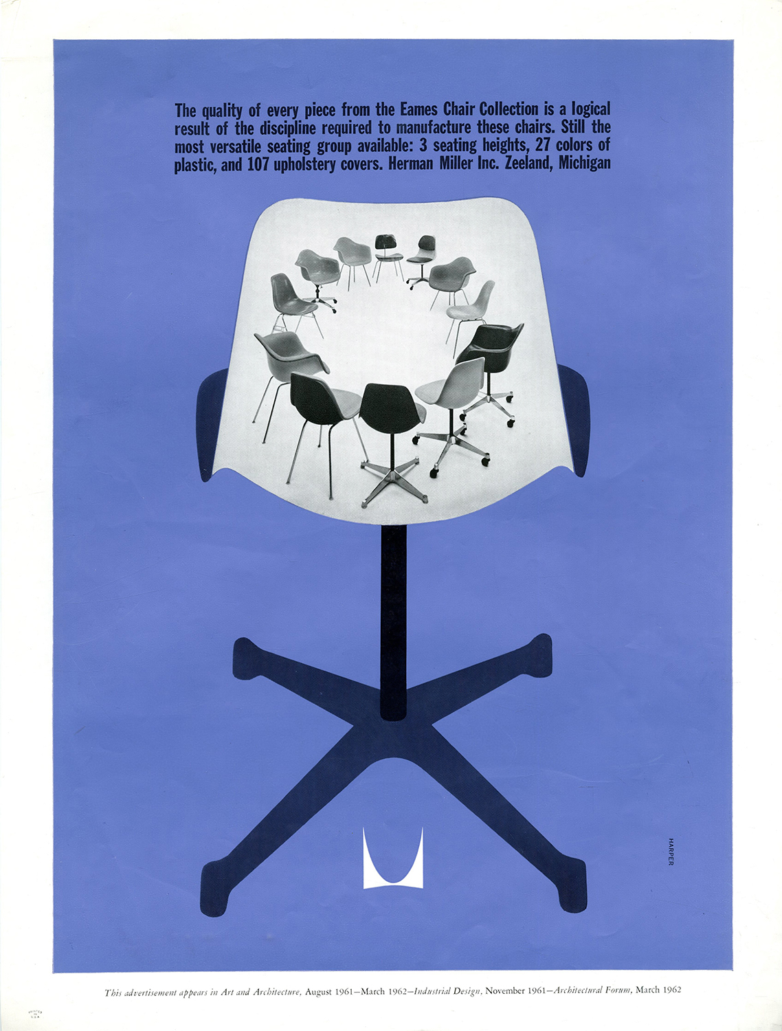 old Herman Miller advertisement