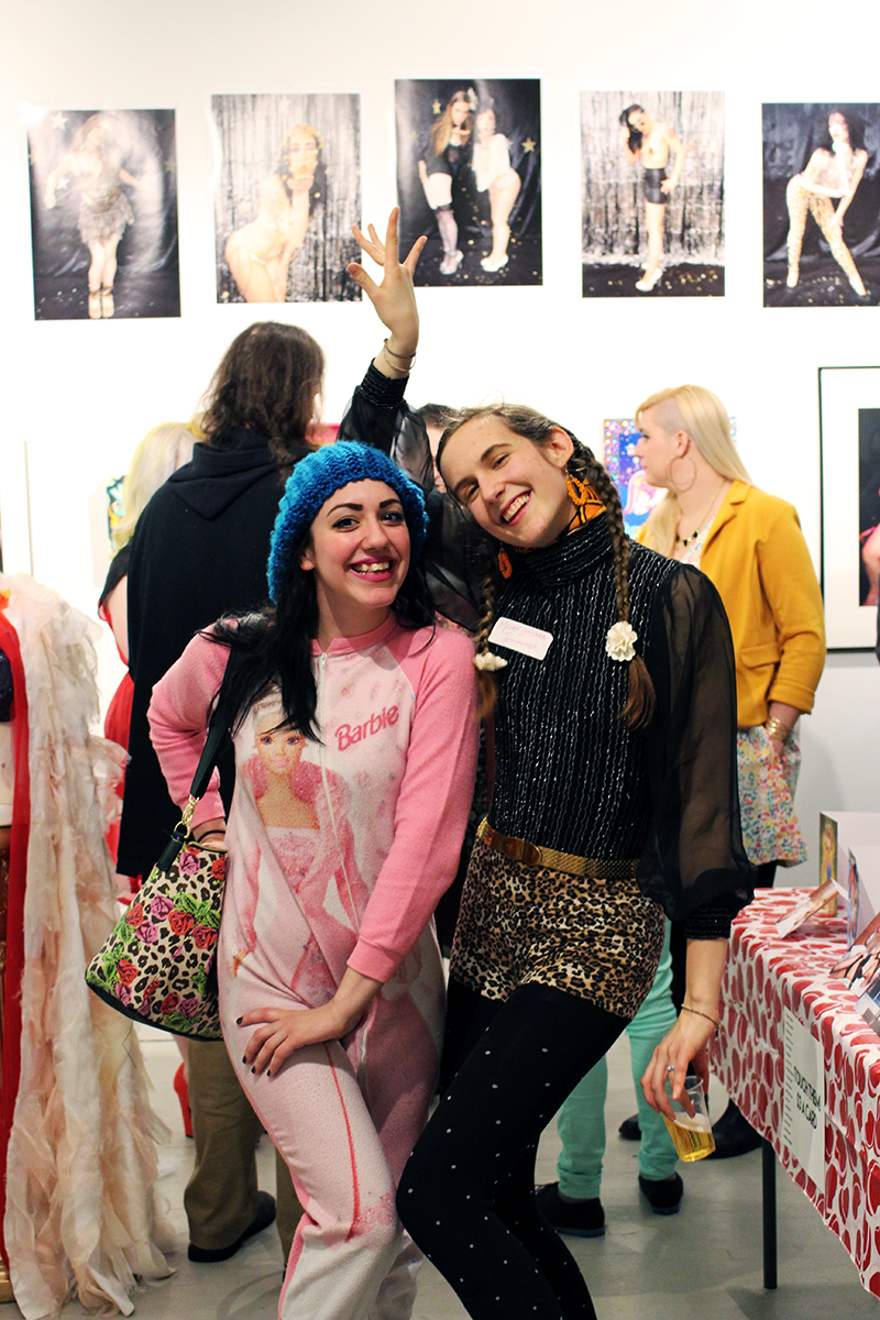 Leage of Extraordinary Ladies at Glitter Milk Gallery