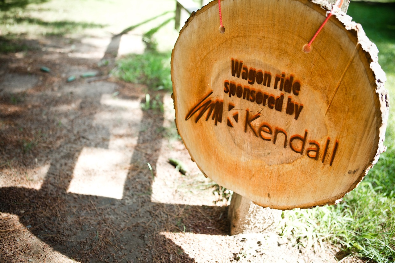 Kendall Wagon Ride Sign