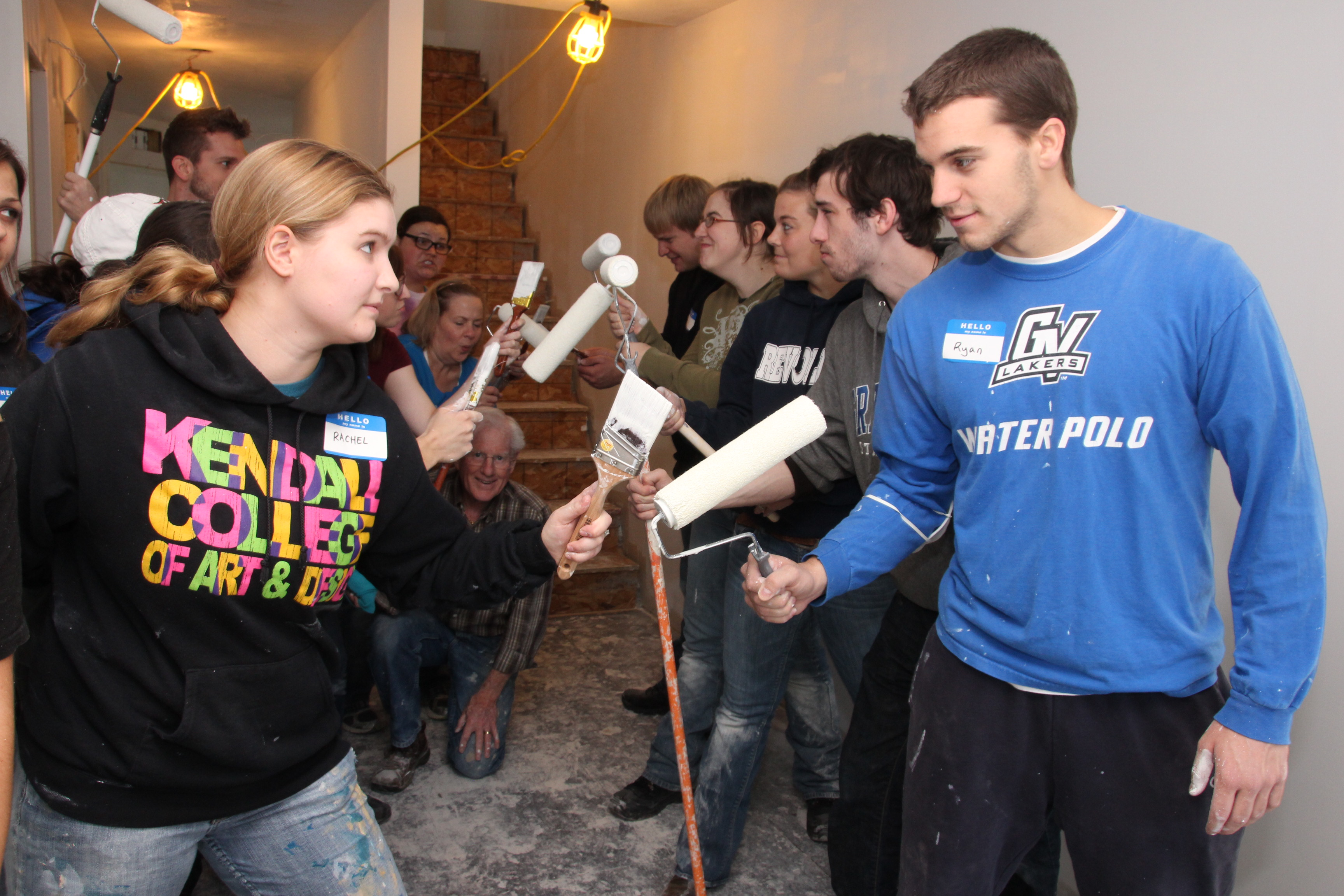 New Bites Interior Design Students Help Make Local Habitat For Humanity House Shine Kendall College Of Art And Design Of Ferris State University