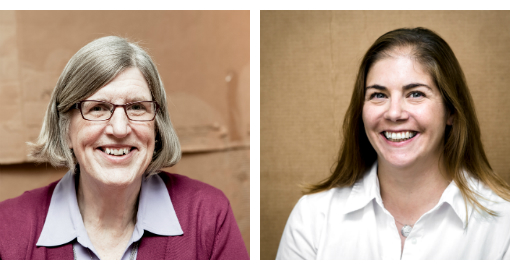 Faculty members Darlene Kaczmarczyk and Leah Gose