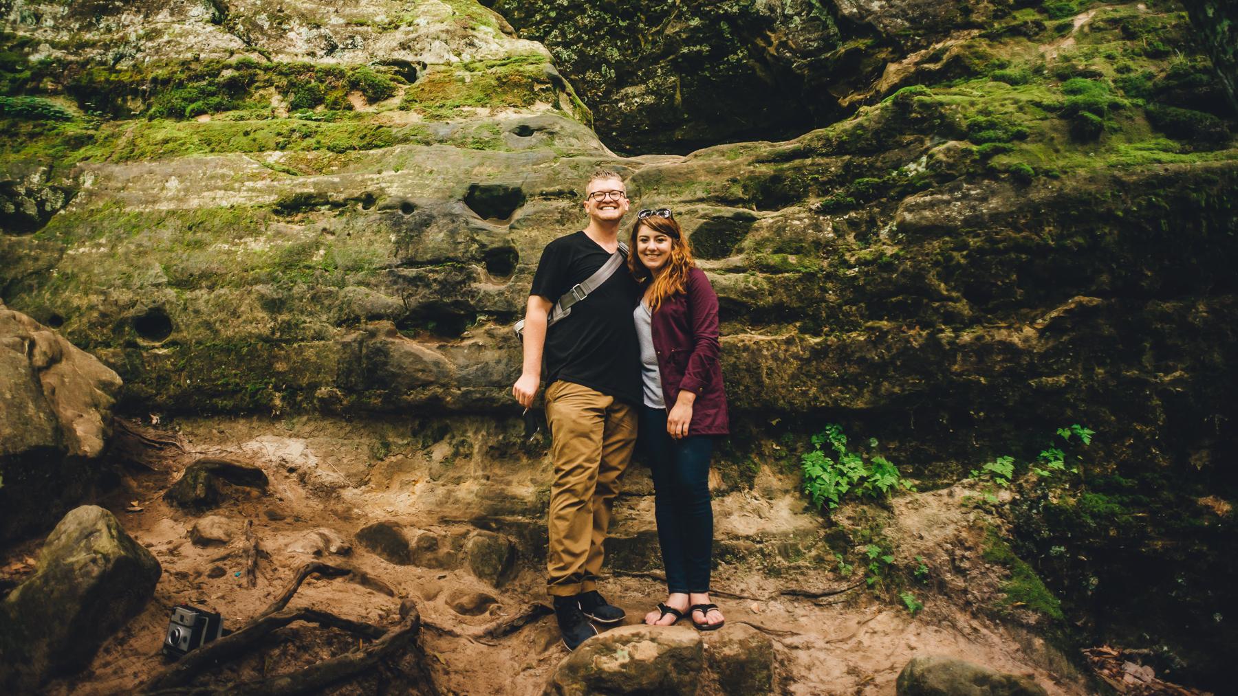 Alumni Matthew Provoast and Erika Townsley