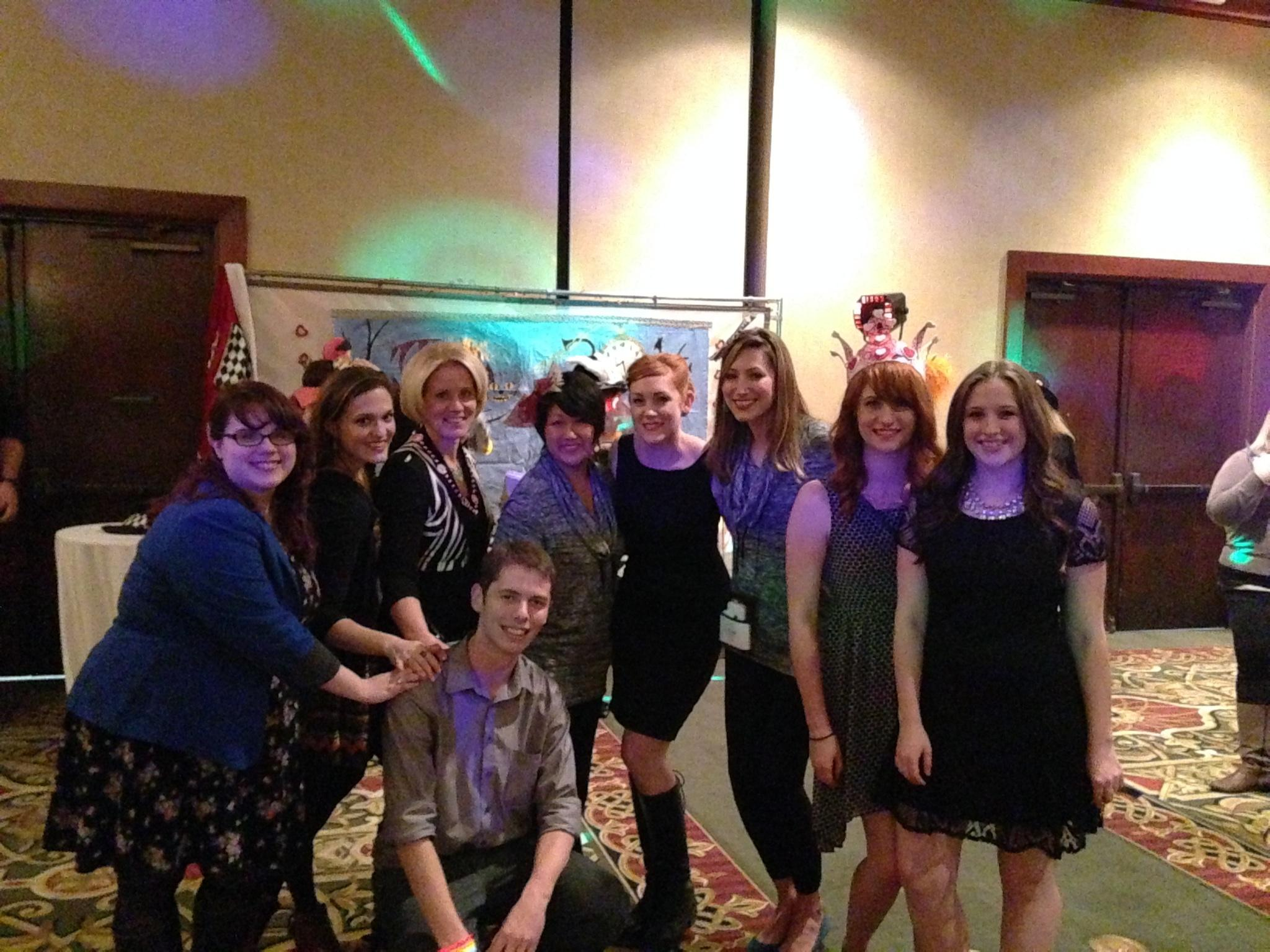 Art Education students at the annual MAEA conference