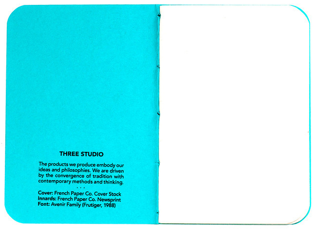 Inside cover of The Three Pack