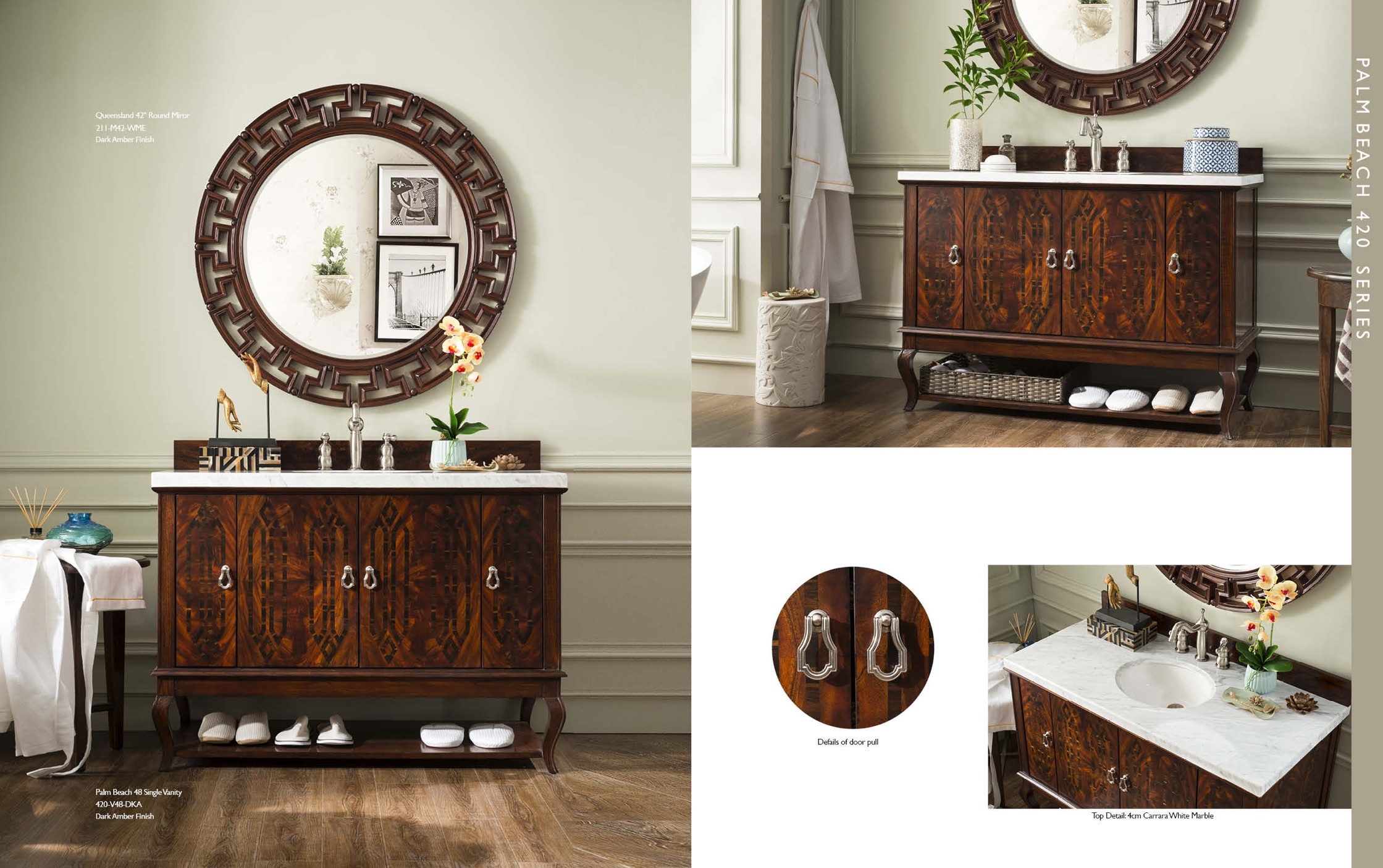 Furniture Design Alum Debuts New High End Bath Vanity Collections