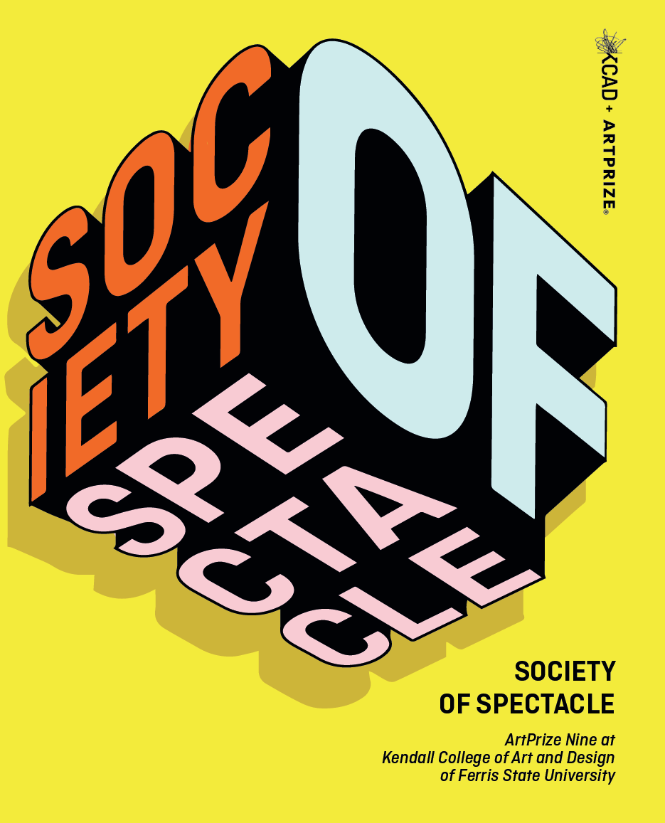 Society of Spectacle exhibition branding