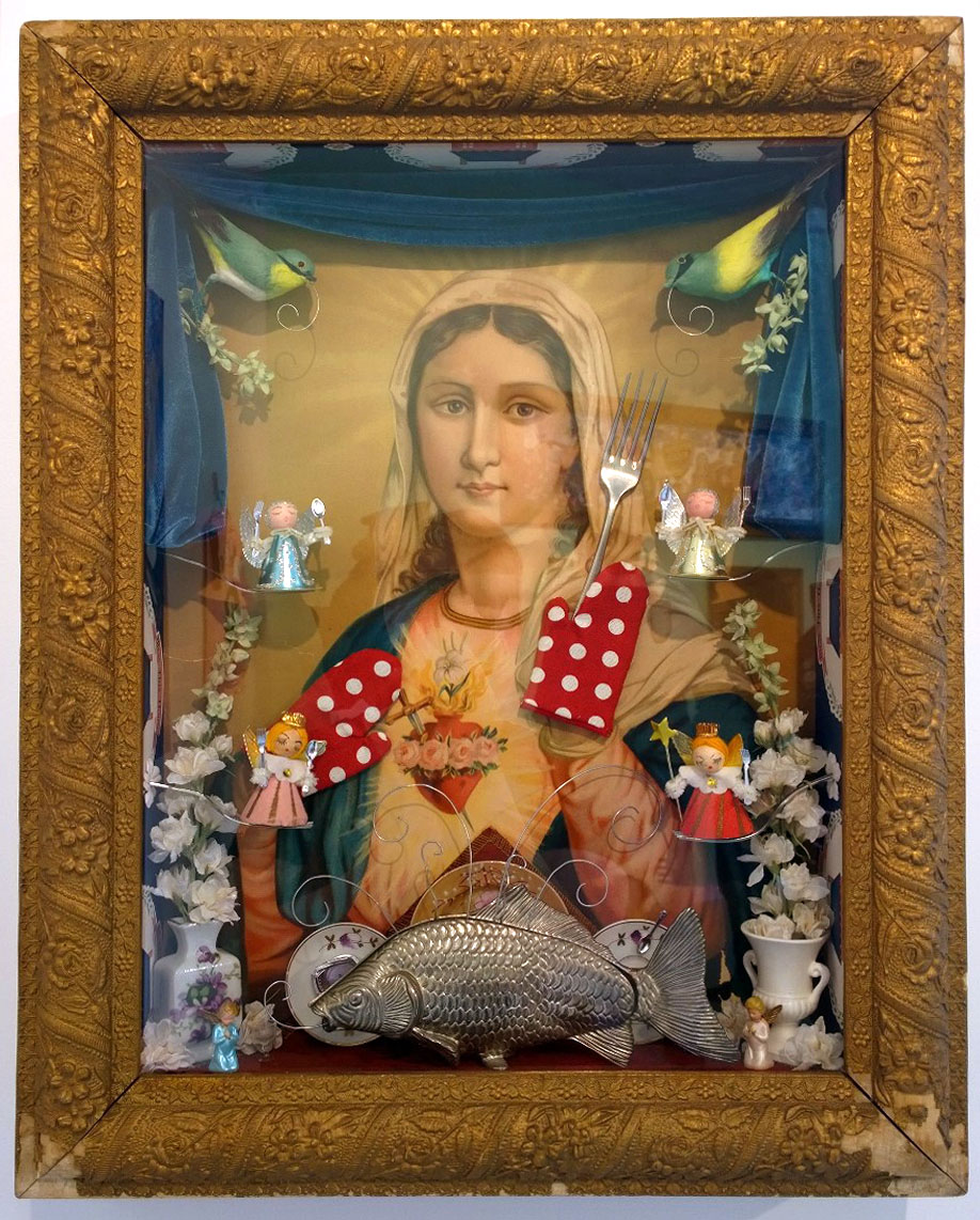 The Presentation of the Blessed Virgin Mary by Laurie Langford
