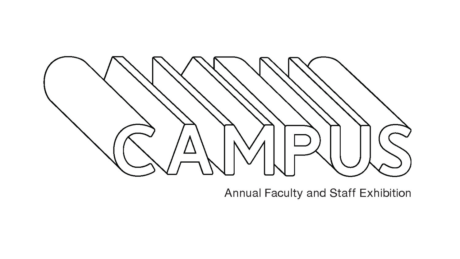 Logo of the word CAMPUS in thin black type over a white background