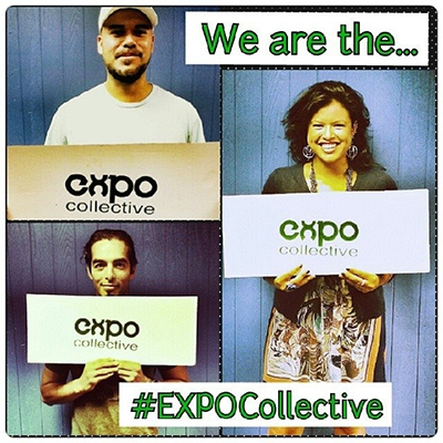 Members of the EXPO collective