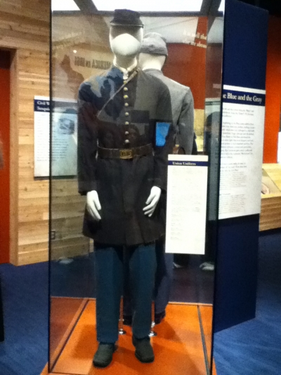 This is from Thank God For Michigan, an exhibit about the civil war that was very successful.
