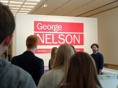 George Nelson Exhibition Sign