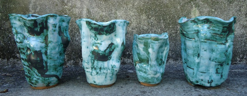 ceramics by student Leslie Phillips