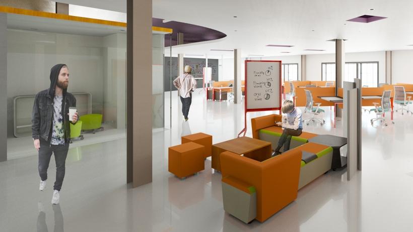 Interior Design Kendall College Of Art And Design Of Ferris State Unique Office Space Interior Design