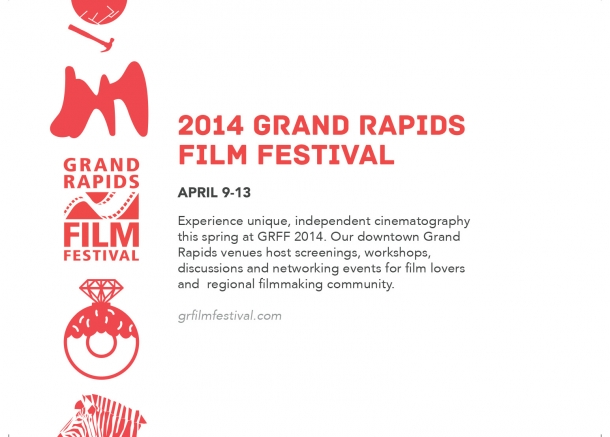 Image for The Grand Rapids Film Festival returns to town from April 9-13, 2014 and KCAD will again be a host for the event.