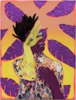 Figure 1: Devan Shimoyama, Crowned, Mixed Media on Canvas, 2017