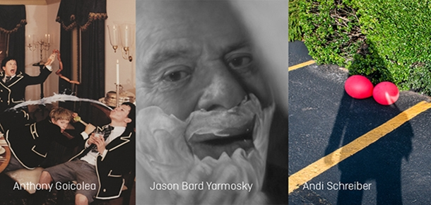 I AM: Always New Artist Images from works by Anthony Goicolea, Jason Bard Yarmosky, and Andi Schreiber