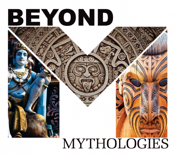 Judging of student submitted mythology-inspired art at the Beyond Mythology Merit Scholarship Symposium