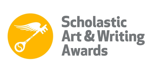 scholastic art award logo of a golden key with wings