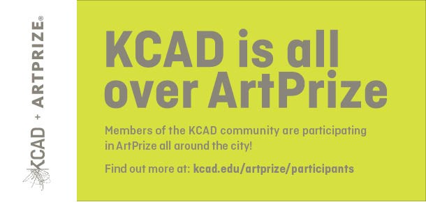 KCAD is all over ArtPrize Members of the KCAD community are participating in ArtPrize all around the city! Find out more at: kcad.edu/artprize/particpants