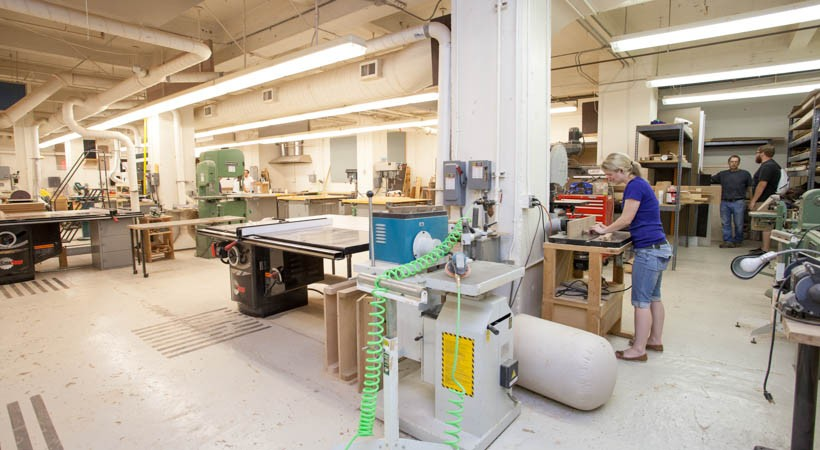 Woodshop Kendall College Of Art And Design Of Ferris