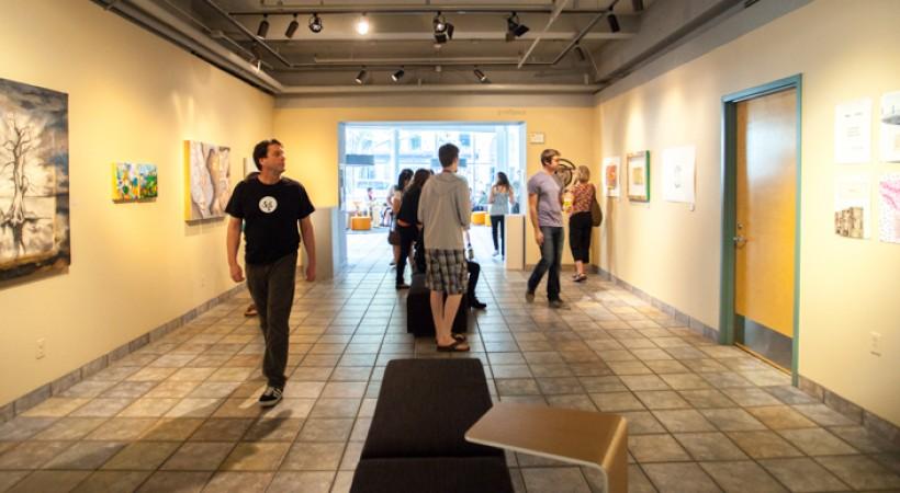 graduate artwork space