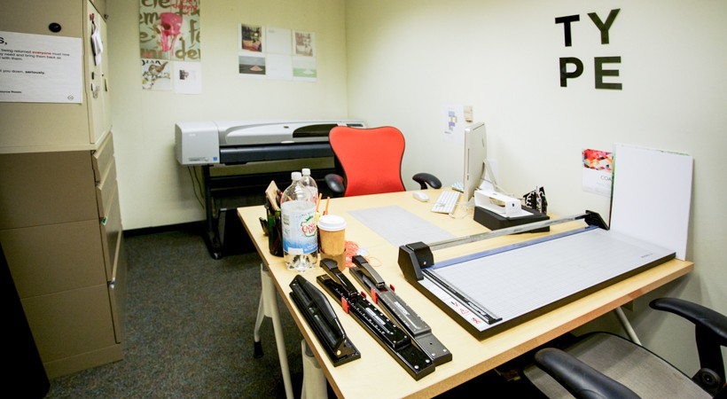 Graphic Design Resource Room Kendall College Of Art And