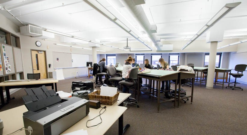 Modern Day Classroom Design ~ Interior design classroom f kendall college of art