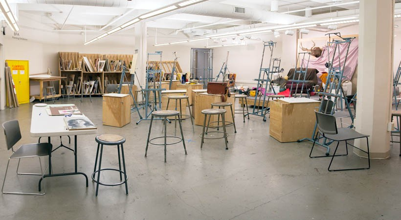 Painting Studio 17f 604 Kendall College Of Art And