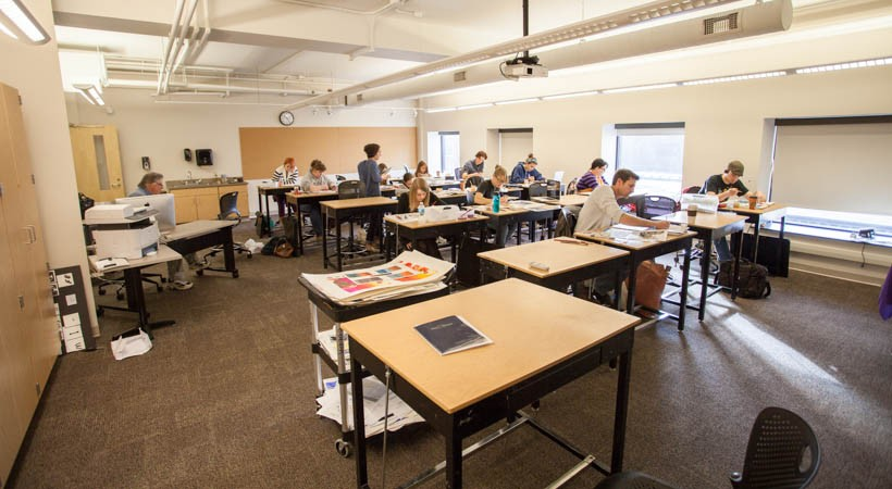 Classroom Design College ~ Drawing classroom f kendall college of art and