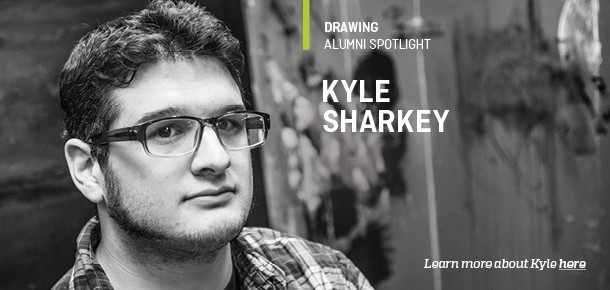 Drawing Alumni Spotlight Kyle Sharkey Learn more about Kyle here