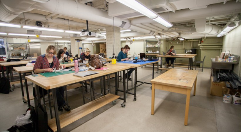 Classroom Design University : D classroom wnf kendall college of art and design