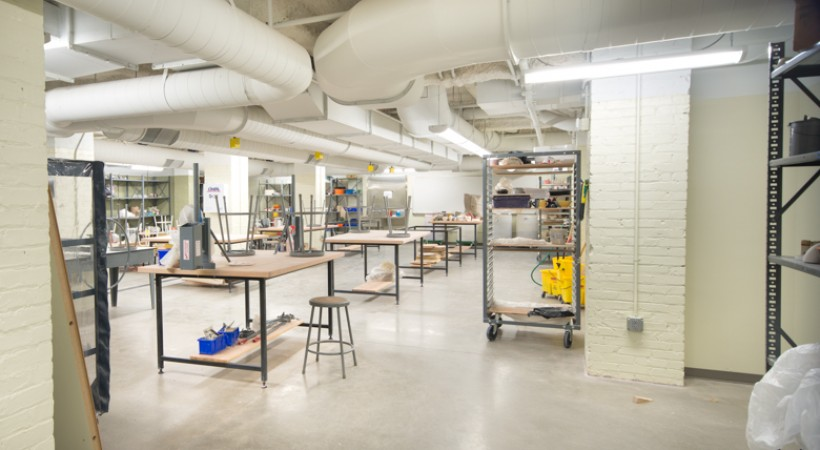 Clay Sculpture Studio Kendall College Of Art And Design