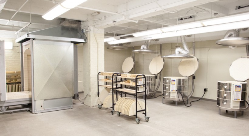 Kiln Room Kendall College Of Art And Design Of Ferris