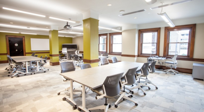 Modern Day Classroom Design ~ Collaborative design classroom wnf kendall college