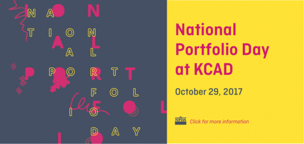 National Portfolio Day at Kendall College of Art and Design of Ferris State University October 29, 2017 Click for more details