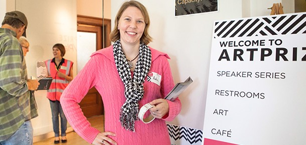 Volunteer for ArtPrize at Kendall