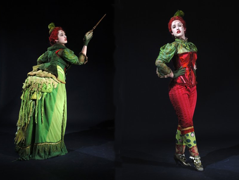 costumes designed by Christy Junke
