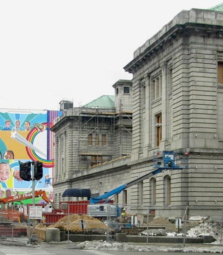 Federal Building Remodeling Summary