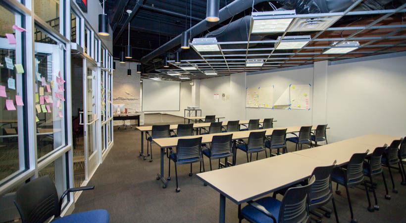 Modern Day Classroom Design ~ Critical transitions classroom kendall college of art