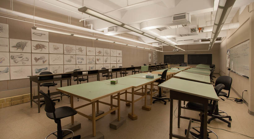 Classroom Library Design ~ Design drawing classroom kendall college of art and